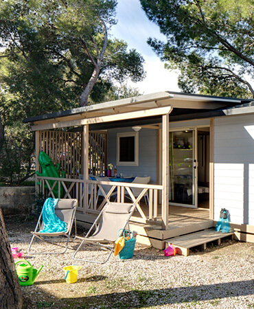 Camping Giens Chalet Pacific