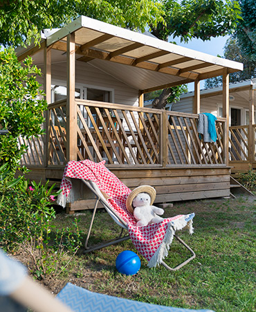 Camping Giens MOBILE HOME Loggia