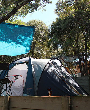 Camping Giens Emplacement camping : TENTE